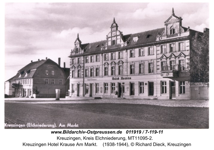 Kreuzingen Hotel Krause Am Markt