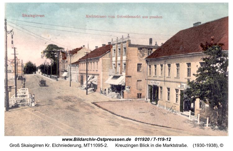 Kreuzingen Blick in die Marktstraße