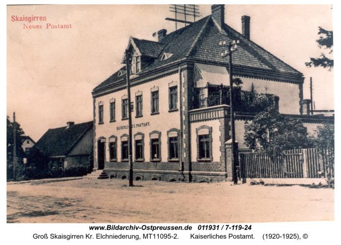 Kreuzingen, Kaiserliches Postamt