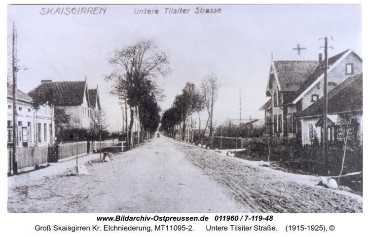 Kreuzingen, Untere Tilsiter Straße