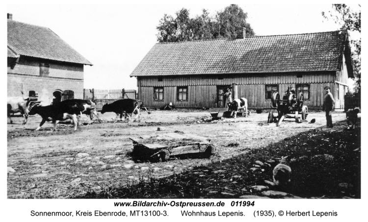 Sonnenmoor, Wohnhaus Lepenis