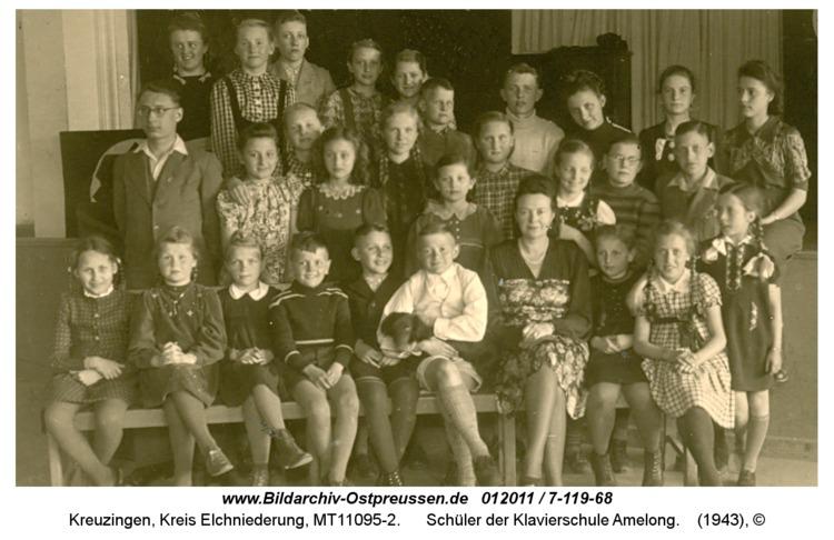 Kreuzingen, Schüler der Klavierschule Amelong
