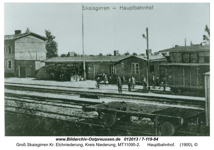 Kreuzingen, Hauptbahnhof