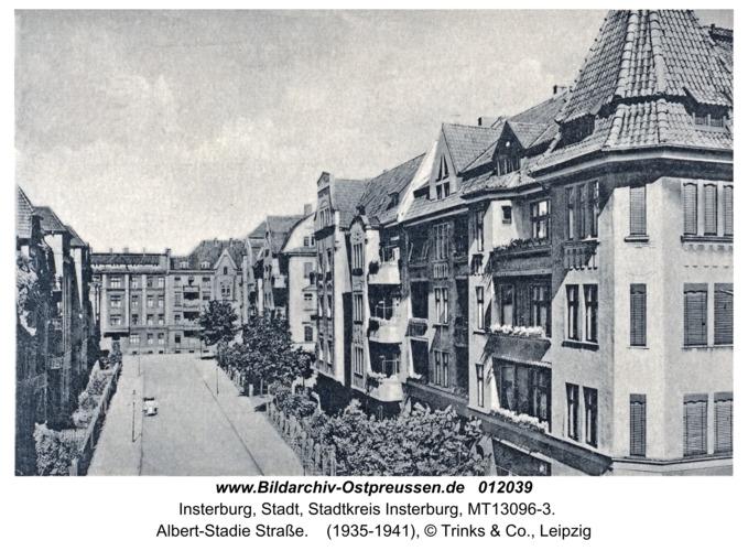 Insterburg, Albert-Stadie Straße