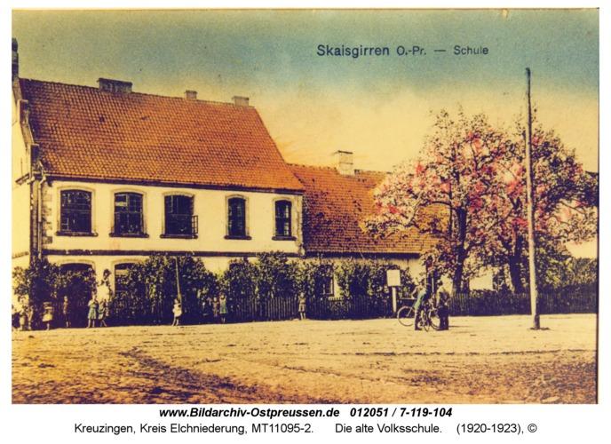 Kreuzingen, Die alte Volksschule