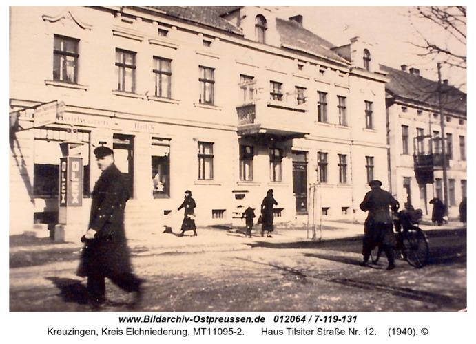 Kreuzingen, Haus Tilsiter Straße Nr. 12
