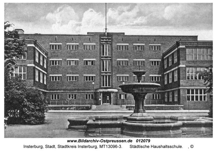 Insterburg, Städtische Haushaltsschule