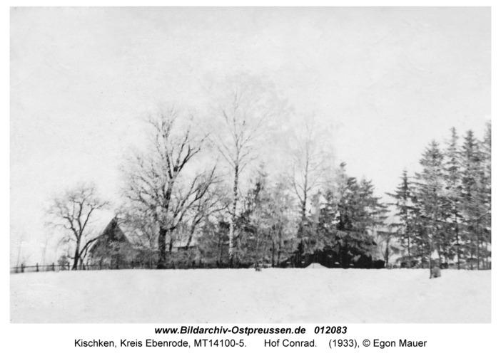 Kischken Kr. Ebenrode, Hof Conrad