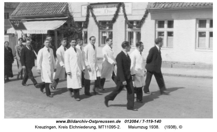 Kreuzingen, Maiumzug 1938