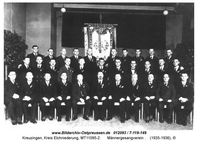 Kreuzingen, Männergesangverein