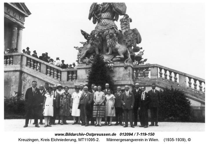 Kreuzingen, Männergesangverein in Wien