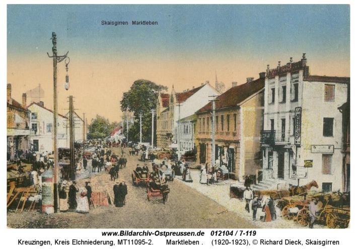 Kreuzingen, Marktleben