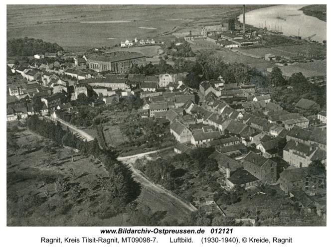 Ragnit, Luftbild