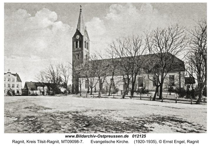 Ragnit, Evangelische Kirche