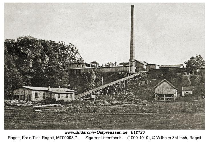 Ragnit, Zigarrenkistenfabrik