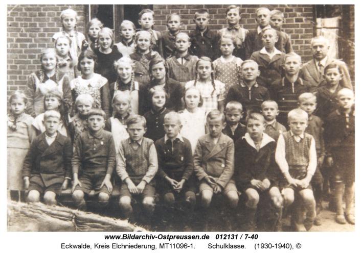 Eckwalde, Schulklasse