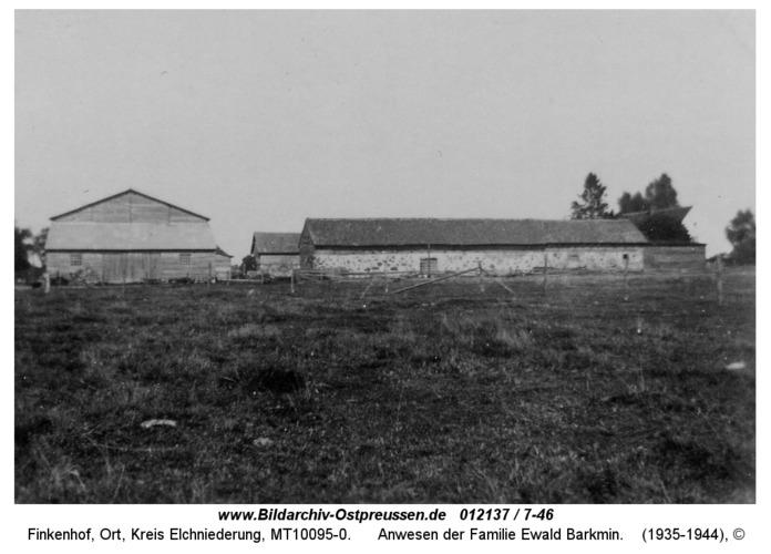 Finkenhof, Anwesen der Familie Ewald Barkmin