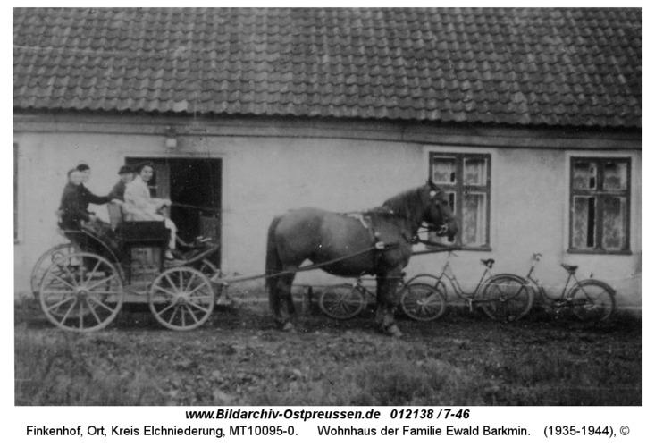 Finkenhof, Wohnhaus der Familie Ewald Barkmin