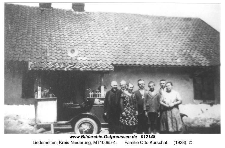 Liedemeiten, Familie Otto Kurschat