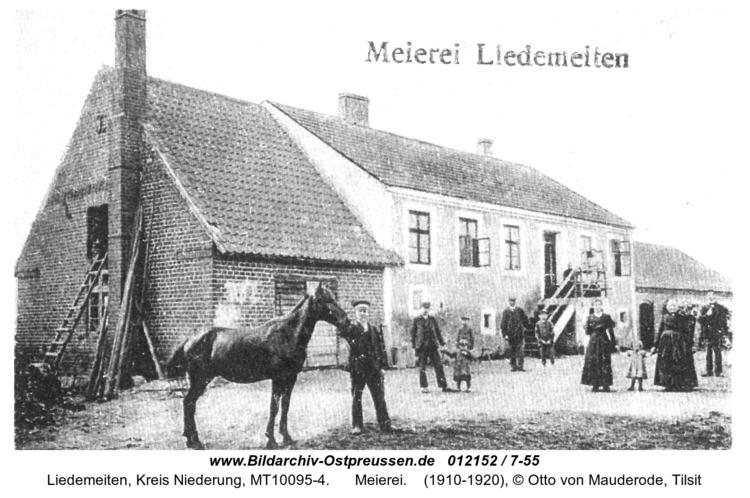 Gerhardsweide, Meierei