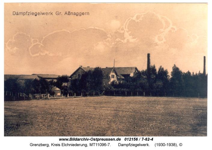 Grenzberg, Dampfziegelwerk