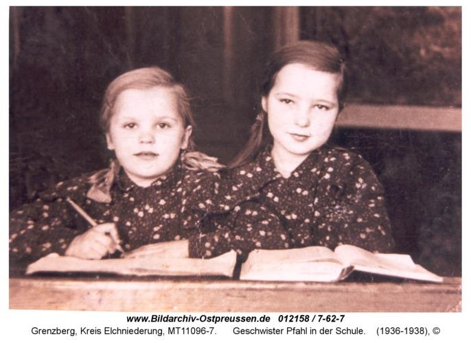 Grenzberg, Geschwister Pfahl in der Schule