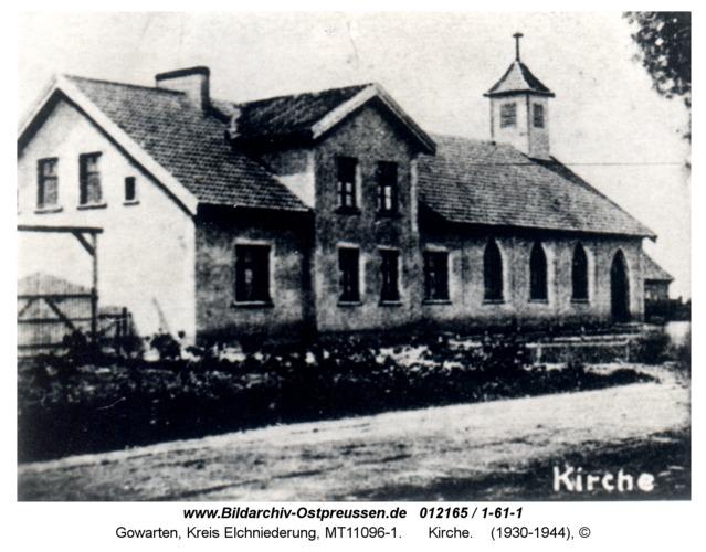 Gowarten, Kirche