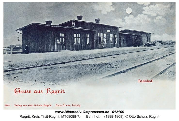 Ragnit, Bahnhof