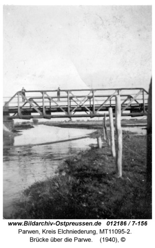Parwen, Brücke über die Parwe