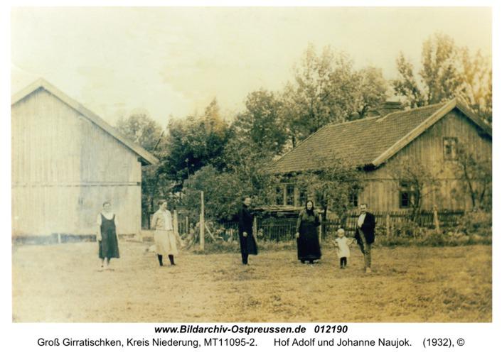 Wartenhöfen, Hof Adolf und Johanne Naujok