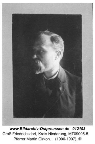 Groß Friedrichsdorf, Pfarrer Martin Girkon