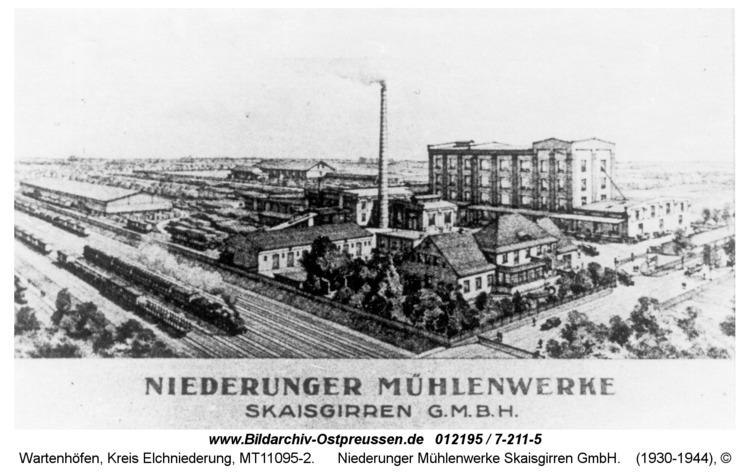 Wartenhöfen, Niederunger Mühlenwerke Skaisgirren GmbH