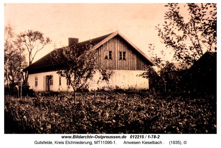 Gutsfelde, Anwesen Kieselbach