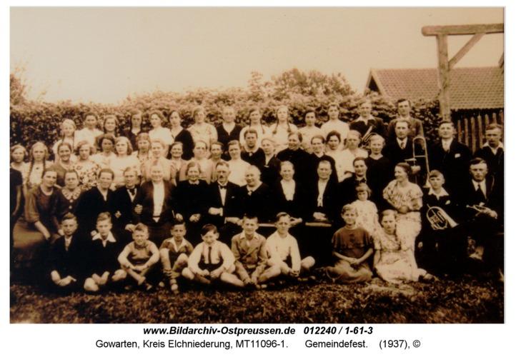 Gowarten, Gemeindefest