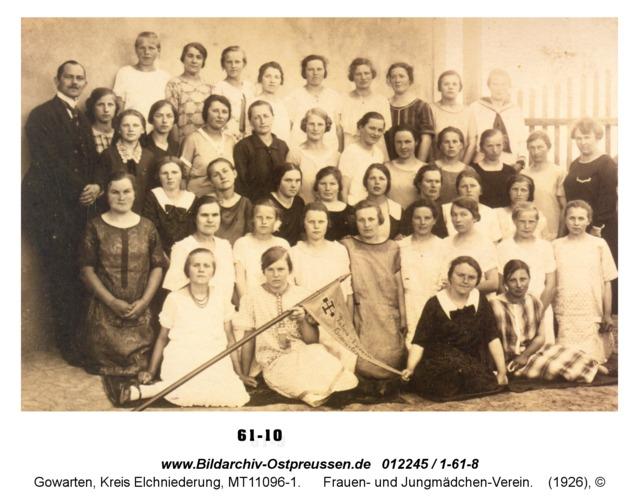 Gowarten, Frauen- und Jungmädchen-Verein