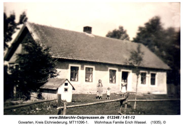 Gowarten, Wohnhaus Familie Erich Wassel