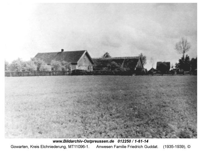 Gowarten, Anwesen Familie Friedrich Guddat