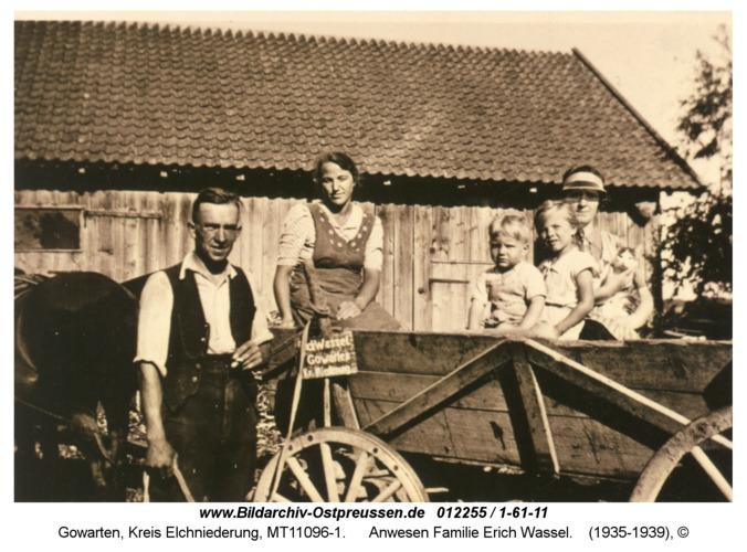 Gowarten, Anwesen Familie Erich Wassel