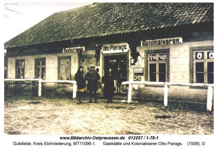 Gutsfelde, Gaststätte und Kolonialwaren Otto Pierags