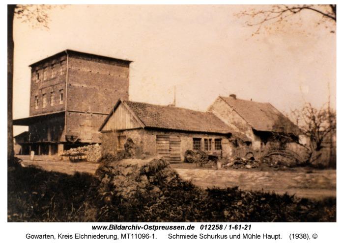 Gowarten, Schmiede Schurkus und Mühle Haupt