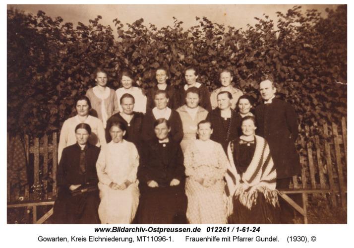 Gowarten, Frauenhilfe mit Pfarrer Gundel