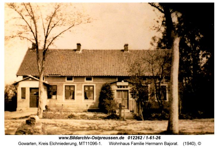 Gowarten, Wohnhaus Familie Hermann Bajorat