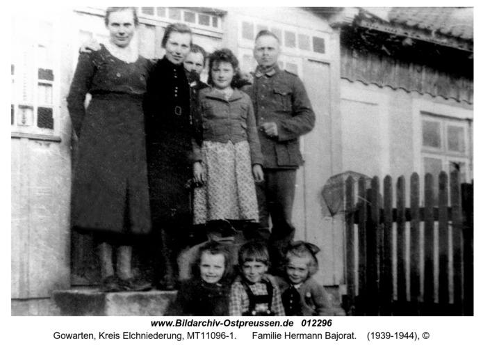 Gowarten, Familie Hermann Bajorat