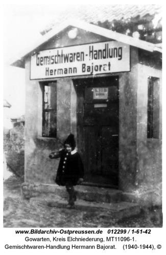 Gowarten, Gemischtwaren-Handlung Hermann Bajorat
