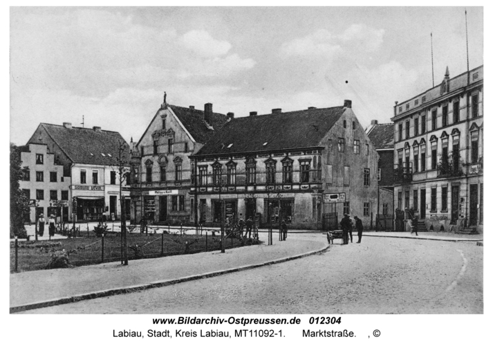 Labiau, Marktstraße