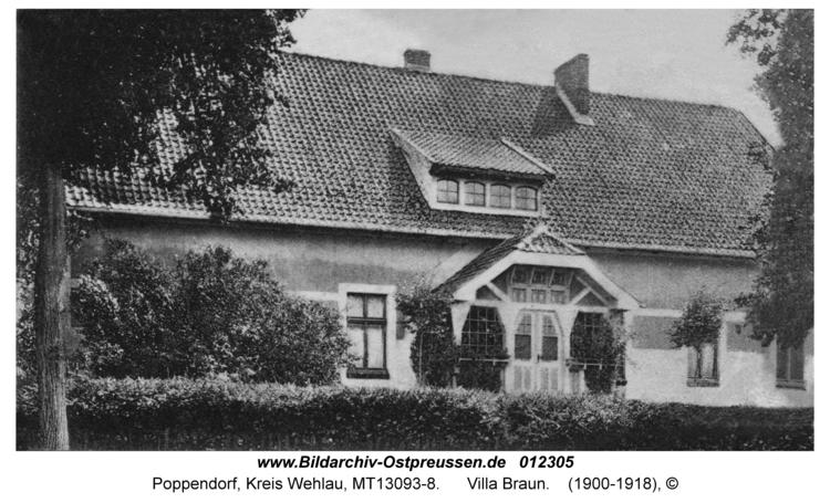 Poppendorf, Villa Braun