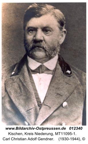 Kischen, Carl Christian Adolf Gendner