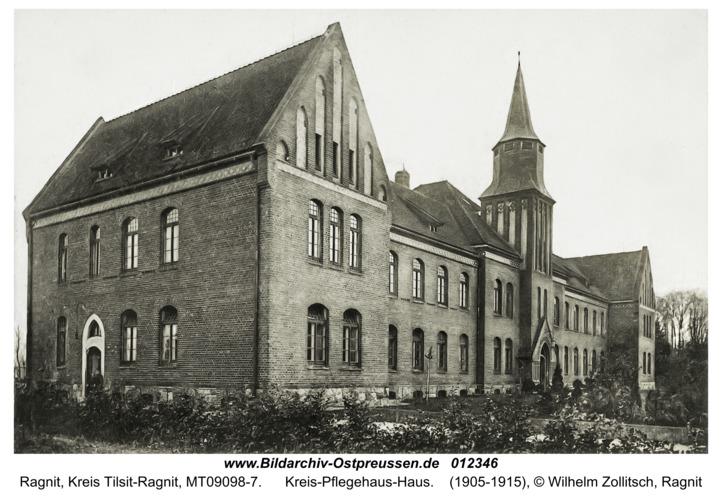 Ragnit, Kreis-Pflegehaus-Haus