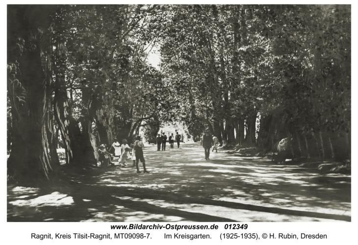 Ragnit, Im Kreisgarten