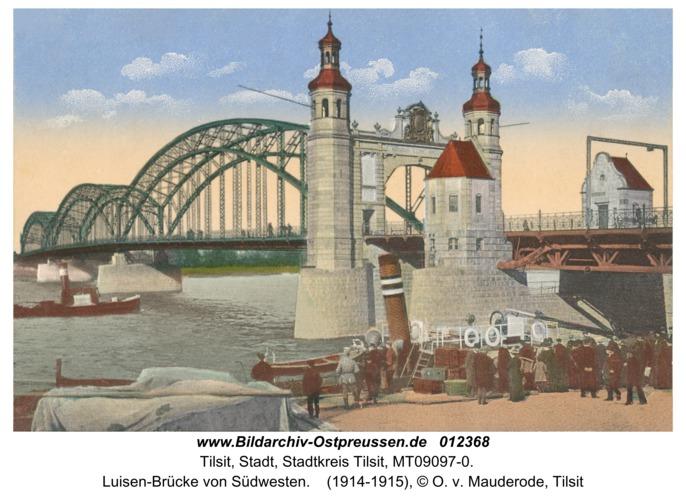 Tilsit, Luisen-Brücke von Südwesten